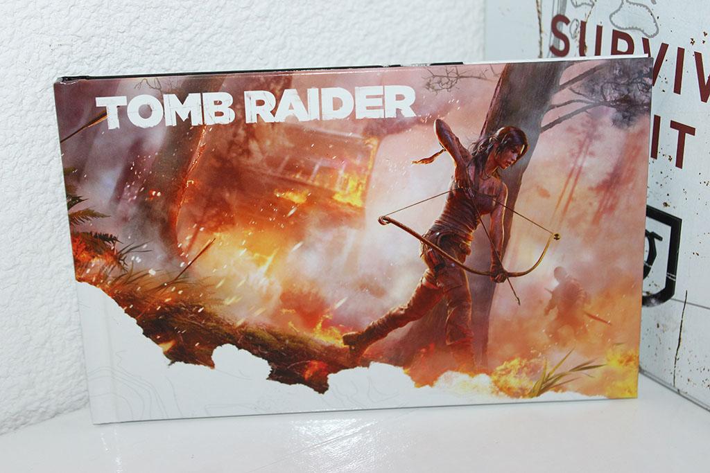 Tomb Raider survival artbook