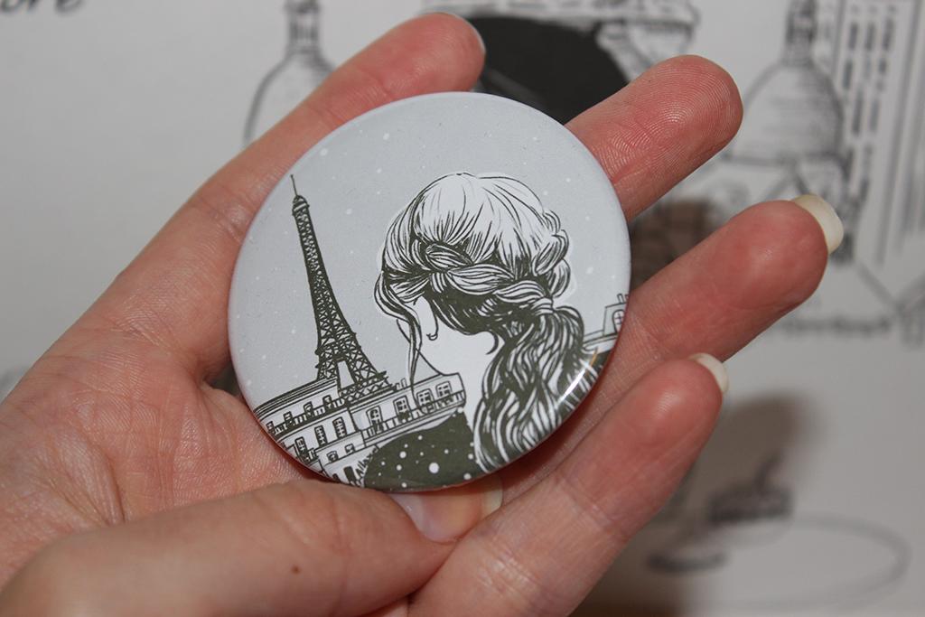 Box QueJadore Paris Romantique miroir arrière